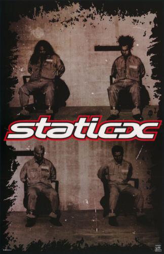 POSTER : MUSIC : STATIC X      - FREE SHIPPING !!    #6533     RW5 F