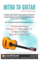 Intro To Guitar Class Ages 8+
