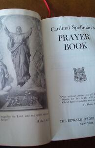 Cardinal Spellman's Prayer Book, 1955 Kitchener / Waterloo Kitchener Area image 2