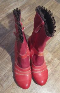 Red Booties (Shoes)