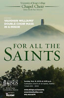 For All The Saints - Paul Halley & King's College Chapel Choir