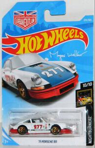 Hot Wheels 1/64 '71 Porsche 911 Magnus Walker Diecast Car