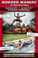 Rugged Maniac- Are you Rugged Enough? Have Fun, Get Muddy, Party
