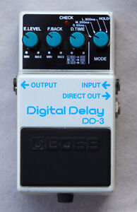 BOSS Delay Pedal DD3 - $90 - Guitar Effects Pedal