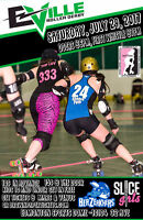 E-Ville Roller Derby presents Slice Girls vs Berzerkhers