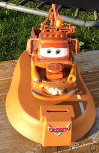 DISNEY PIXAR TOW MATER ANIMATED MOVING TALKING BANK Gatineau Ottawa / Gatineau Area image 2