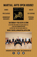 Kung Fu and Tai Chi Open House!
