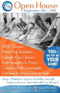 Yoga Loft Open House - Free Event All Classes Free