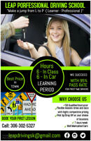 Driving Lessons -6 Hrs  in Class on  23 November Call 3063025327