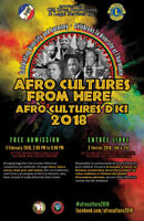Afro Cultures from Here 2018 / Afro Cultures d'Ici 2018