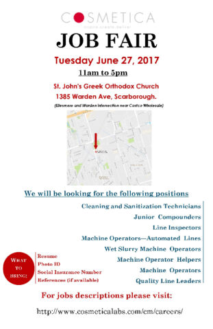 HIRING NOW !! - Job Fair - June 27th (Multiple Positions)