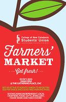 CNC Students' Union Farmer's Market
