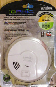 *NEW*Smoke Sensing (IoPhic) Battery-Operated Fire Detector Alarm