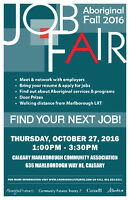 Looking for a job? Attend the Aboriginal Fall Job Fair!