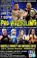 PWA Live Pro Wrestling in Parksville