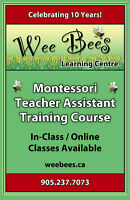 MONTESSORI TEACHER ASSISTANT (CERTIFICATE)