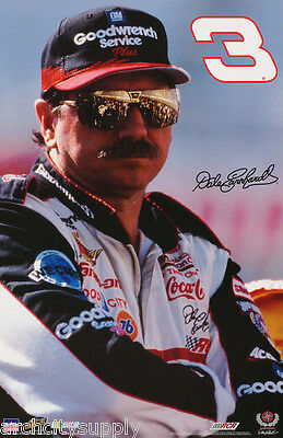 Poster : Nascar : Dale Earnhardt , Sr. 3 - Free Shipping 7026 Rc31 F