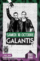 Billet Galantis 10 Oct / Tickets Galantis 10 Oct