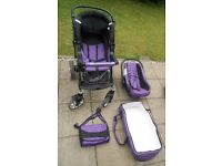 Baby sportive 3in1 travel system