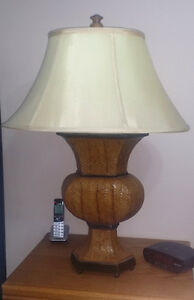 Decorative Faux Woven Leather Table Lamps