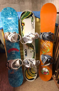 Snowboards Youth/Short Adult