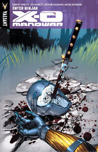 X-O Manowar-Enter:Ninjak-Graphic Novel-Superb copy