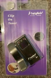 Clip on digital guitarTuners