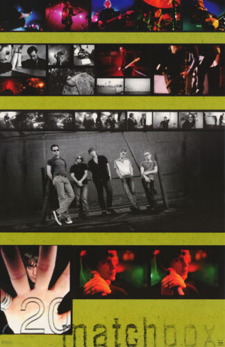 POSTER : MUSIC : MATCHBOX 20 -  COLLAGE - FREE SHIPPING !     #6182      RC40 i