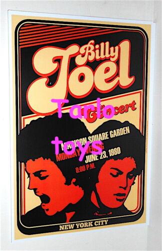 BILLY JOEL - New York, Us - 23 June 1980   - concert poster