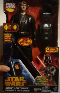 Star Wars collectable Anakin to Vader