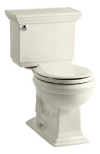 Kohler 3933-47 Memoirs Stately Comfort Height Two-Piece Round-Fr