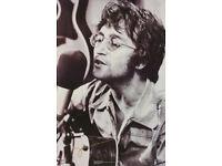 BEATLES FREE  SHIP  #9019  RC20 B LOT OF 2 POSTERS:MUSIC:VINTAGE JOHN LENNON