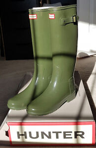 Hunter Boots - Size 7