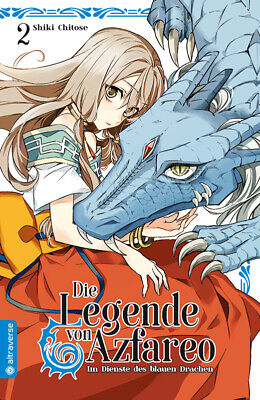Die Legende von Azfareo 2 - Altraverse - Manga - deutsch - NEUWARE