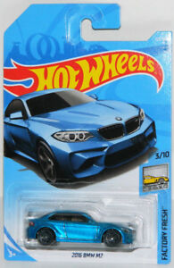 Hot Wheels 1/64 2016 BMW M2 Diecast Car Blue