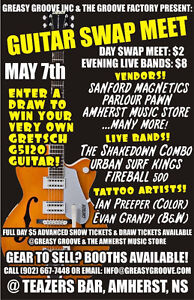 Guitar Swap Meet/Show in Amherst, NS - May 7th