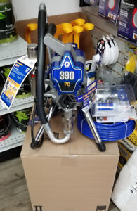 Graco 390 spray machine  complete with hose and gun