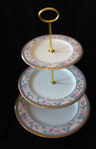 NORITAKE - EMBASSY SUITE - 3 TIER CAKE STAND