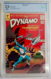 Dynamo # 1 CBCS ( 7.5 ) 1966 Tower - Wally Wood - Steve Ditko