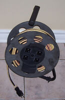 50 Foot Cord Reel Power Station with 4 Outlets