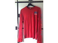 Men's Small Hollister Long sleeves t-shirt Red