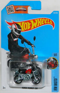 Hot Wheels 1/64 Honda Monkey Z50 Diecast Mini Bike