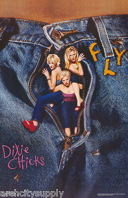 POSTER : MUSIC : DIXIE CHICKS - FLY - ALL 3 POSED - FREE SHIP !    #455 RAP29 A