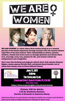 We-Are-Women Cabaret Celebrating Women