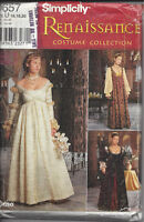 Simplicity, Renaisssance costume collection 0657