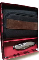Brand new Wallet with Knife-tool stainless steel