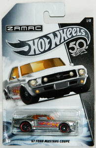 Hot Wheels 50th ZAMAC 1/64 Diecast Cars