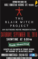 """Outdoor Movie Night - """"The Blair Witch Project"""""""