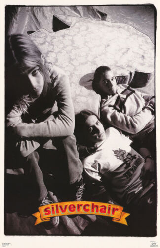 LOT OF 2 POSTERS: MUSIC:  SILVERCHAIR - ALL 3 POSED - FREE SHIP  #6519    RC3 K