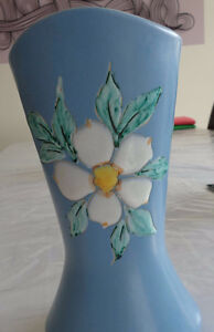 Dogwood Vase by Acclaimed Artist HERTA, Vancouver BC Strathcona County Edmonton Area image 2